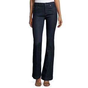 NWT The Janis Petite High Rise Flare 27